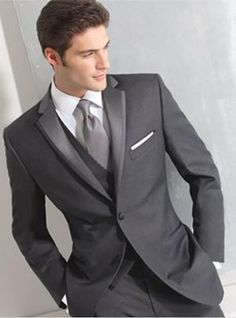 Black On Black Tuxedos Two Buttons Side Seam For Incision Lapel The Groom'S Best Man Suit Wedding Dress Wedding Suit Jacket + + Pants + Tie Vest Formal Mens Dress From Juanshi518, $80.63| Dhgate.Com