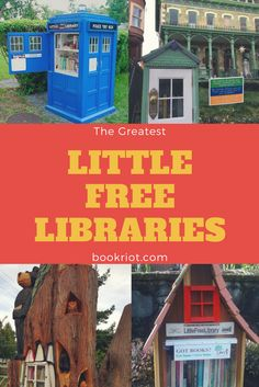 These Little Free Libraries are awesome.