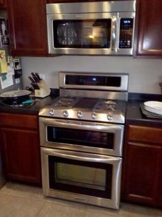 Double oven stovetop