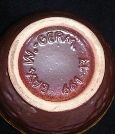 German Jug Candlesticks, German, Pottery, Ceramics, Retro, Breakfast, Collection, Food, Candle Holders