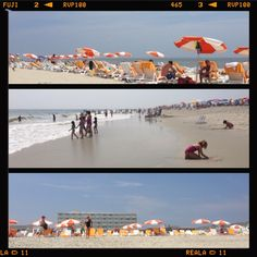 Cape May Beach at Ocean Club Hotel...on our way tonight for dinner at Sea Salt!