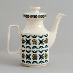 Staffordshire Potteries coffee pot by robmcrorie, via Flickr