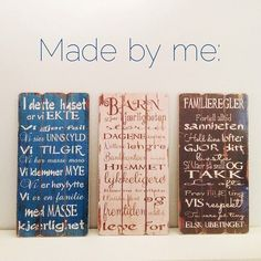 Skiltene er designet av meg, fås kjøpt på Vivo Bokhandel. Cover, Books, Libros, Book, Book Illustrations, Libri