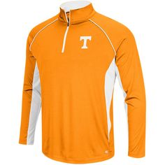 Tennessee Volunteers Colosseum Big & Tall Air Stream Quarter-Zip Pullover Jacket - Tennessee Orange - $47.99