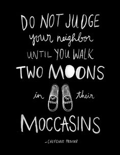 Walk Two Moons in their Moccasins — June Letters Design