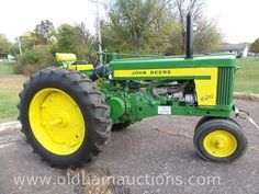 1957 John Deere 620 Sold For $4,800 At www.oldhamonlineauctions.com