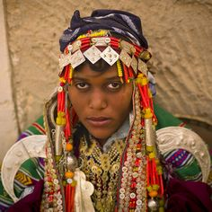 Girl in traditional clothes in Ghadamis - Libya by Eric Lafforgue, via Flickr