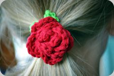 Crochet Rose Ring 14