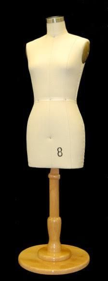 Half Scale Female Dress Form: Size 8 Deluxe Version – Mannequin Madness