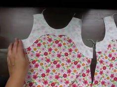 como coser un vestido o blusa sin mangas y vista de cuello y sisa en una...