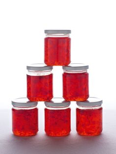 Although I call this chilli jam, I don't mean by this that it's the sort of thing you'd spread on your toast.