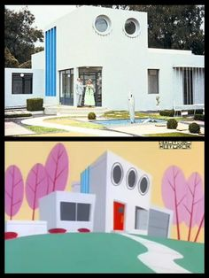 Did you know The Professors house is based off the house from the 1958 French film Mon Oncle ?