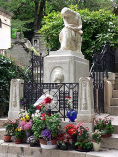 Chopin's Grave at Pere-Lachaise