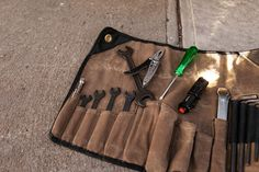 TheTool Roll by Union Garage NYCis a new product from the New York based company, it's designed to be an all-inclusive set of tools for metric motorcycles that'll keep you ... Read More