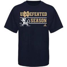 Amazon.com: Notre Dame Fighting Irish Adidas Adult 2012 Undefeated Season T-Shirt: Clothing