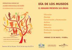 Presentación de las áreas del Museo | Día Internacional de los Museos. 23/05/14