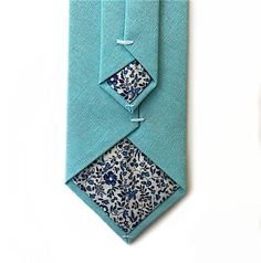 A personal favourite from my Etsy shop https://www.etsy.com/uk/listing/511195590/aqua-tie-with-liberty-print-lining