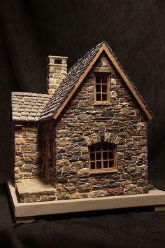 miniature houses by karin caspar mini houses pinterest miniatures miniature houses und. Black Bedroom Furniture Sets. Home Design Ideas