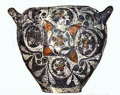 Kamares ware Minoan pottery from Phaistos