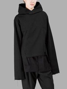 DAMIR DOMA DAMIR DOMA WOMEN'S BLACK HOODIE. #damirdoma #cloth #sweaters