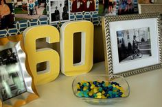 60TH Birthday party decorations!