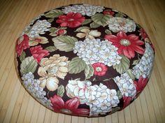 Zafu Meditation Cushion Round Floor Pillow UNFILLED by ZafuChi