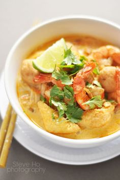 One of the delicious food in Malaysia is laksa    #DeliciousFood #DanCamacho