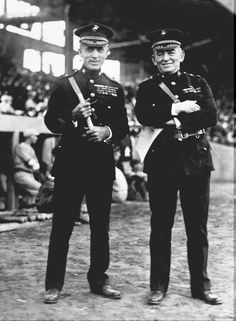 Smedley Butler & John Lejeune <both of them for different reasons> Marine Corps History, Us Marine Corps, Military History, Military Police, Military Aircraft, Marines Boot Camp, Famous Marines, Butler, Once A Marine