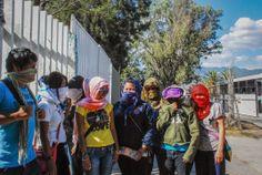 CENEO: Normalistas rurales por la educación radicalizan acciones en Oaxaca, México