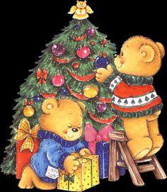 Christmas trees Graphic Animated Gif - Graphics christmas trees 853347
