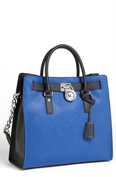 Blue and Black bag - Michael Kors