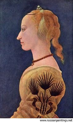 medieval autumn - Portrait of a lady in yellow / Alesso Baldovinetti c. National Gallery of Art, London. Costume Renaissance, Italian Renaissance Art, Renaissance Kunst, Renaissance Portraits, Renaissance Jewelry, Renaissance Paintings, Renaissance Hair, Victorian Portraits, Medieval