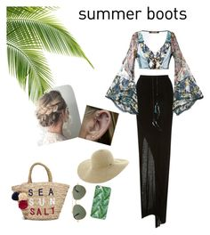"""It's #summer again!🏝"" by ivanaclara on Polyvore featuring Rick Owens Lilies, Roberto Cavalli, Givenchy, Sundry and Roxy"