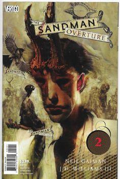 Sandman Overture #2 Vertigo Comics Neil Gaiman