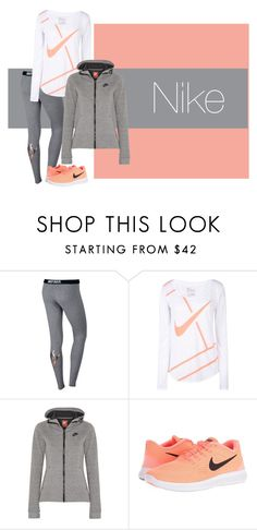 """""""Nike💗"""" by kinnfors on Polyvore featuring NIKE"""