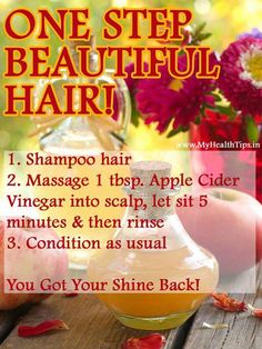 Beautiful Hair Tips - may have to try this sometime!