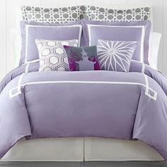 Happy Chic by Jonathan Adler Chloe Solid Duvet Cover Set & Accessories - jcpenney