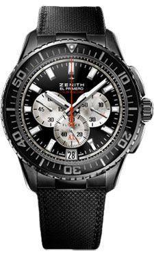 Zenith El Primero Stratos Flyback Striking 10th Black Alchron 24.2061.4057/67.C707