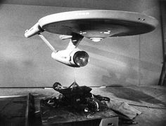 Shooting the original Enterprise