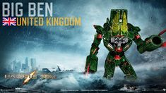 Pacific Rim Jeager: Big Ben by Lugnut1995.deviantart.com on @DeviantArt