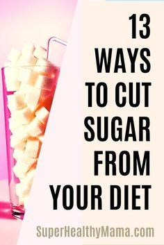 REDUCING SUGAR – 13 WAYS TO EAT LESS SUGAR EVERY DAY Low Sugar Diet Low Sugar Diet Plan, No Sugar Diet, No Sugar Foods, Healthy Eating Habits, Healthy Life, Sugar Detox Diet, Diet Detox, Diet Food List, Food Lists