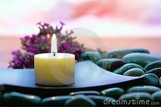 Meditation Candle Burning In Spiritual Zen Session - Download From Over 59 Million High Quality Stock Photos, Images, Vectors. Sign up for FREE today. Image: 14551594