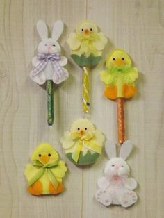 Easter Treats: Bunny, Duck & Chick