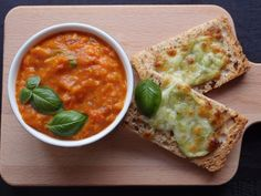 The VegHog: Roasted heirloom tomato and baby pepper soup