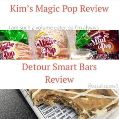 Review from @saraherose3 ! I have 2 new product reviews up though to make up for that! I know you guys are always asking about different products to try so here are two companies to check out!! 1@kimsmagicpop makes crazy-flavored rice cakes and I was lucky enough to try a bunch! I love them ALL and want to try so many more flavors! 2@detourbar came out with new gluten-free naturally-sweetened bars that are drizzled with Greek yogurt. I got to try two flavors and I'm basically in love with…