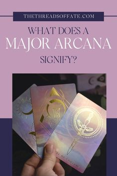 What is the significance of the Major Arcana? The Major Arcana are life's overall themes and lessons - the big experiences we all face at one time or another. #tarot #majorarcana Physic Reading, Tarot Cards For Beginners, Love Is A Choice, Message Of Encouragement, Tarot Card Spreads, The Hierophant, Tarot Learning, Tarot Card Meanings, Spiritual Connection