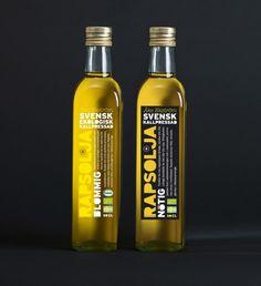 Åke Ekström, a Swedish rape seed oil brand Designed by Food & Friends | Country: Sweden