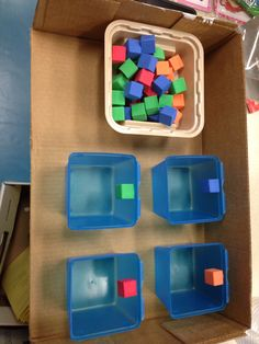 Sorting structured task- all items from the dollar store.