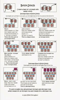 Best Seed Bead Jewelry 2017 Schema from pinner for celebration Brick Stitch earrings Seed Bead Tutorials Source by vildandikmenBeaded beads tutorials and patterns, beaded jewelry patterns, wzory bizuterii koralikowej, bizuteria z koralikow - wzory i Beaded Earrings Patterns, Seed Bead Patterns, Bracelet Patterns, Peyote Patterns, Beaded Earrings Native, Beading Patterns Free, Weaving Patterns, Beaded Bracelets, Beaded Necklace