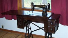 Stepping Up to a 100-year-old Treadle Sewing Machine | The Prepper JournalThe Prepper Journal, I'm pinning this because I have one very similar to this.